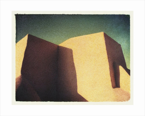 Taos Chapel by Jennifer Kennard