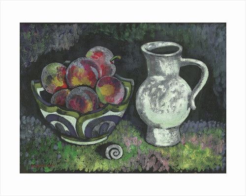 Purple Plums by Robert McIntosh