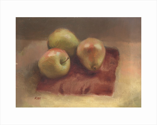 Apples and a Pear by Robert McIntosh