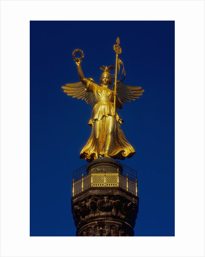 Detail of the Victory Column Statue by Friedrich Darke