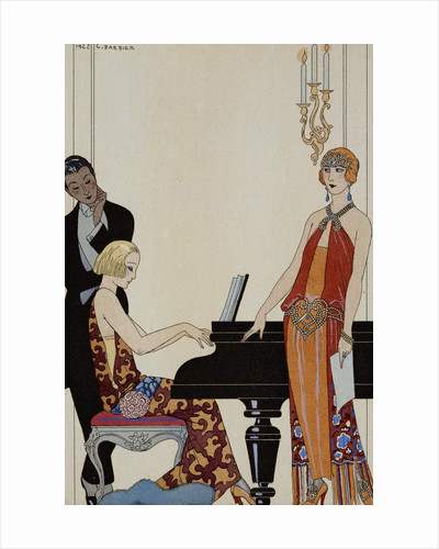Incantation by George Barbier