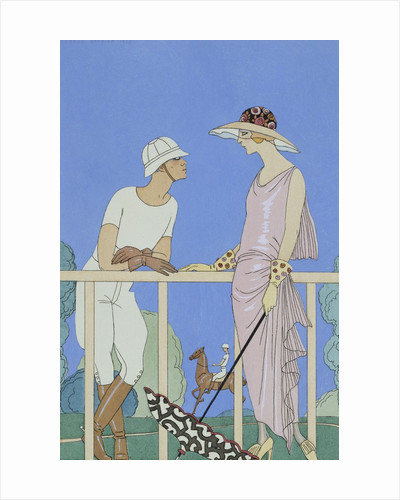Polo by George Barbier