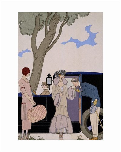 L'Ensie by George Barbier