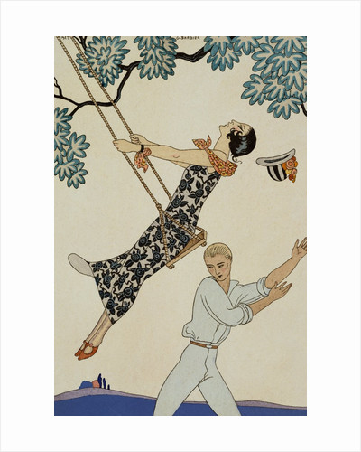 The Swing by George Barbier