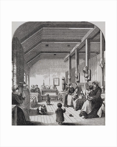 Engraving Depicting The Convict Nursery at Brixton by Corbis