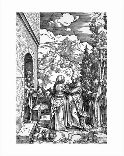 The Visitation Woodcut by Albrecht Dürer