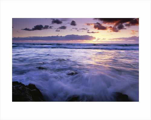 Fraser Island Coast at Sunrise by Corbis