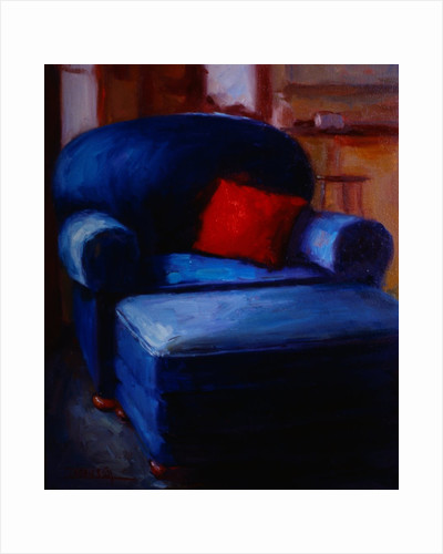 Red Pillow II by Pam Ingalls