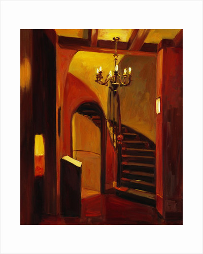 Stairs in Florence by Pam Ingalls