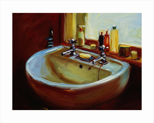 Debby's Sink Painting by Pam Ingalls