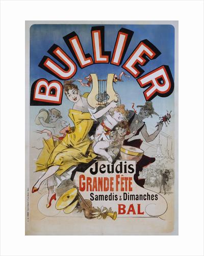 Bullier Poster by Jules Cheret