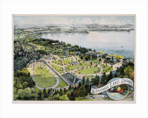 Canobie Lake Park Poster by Corbis