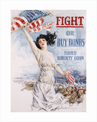 Fight or Buy Bonds Poster by Howard Chandler Christy