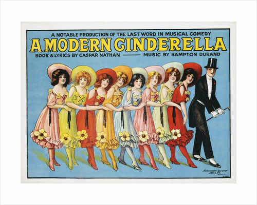 Poster Advertisement for A Modern Cinderella by Corbis