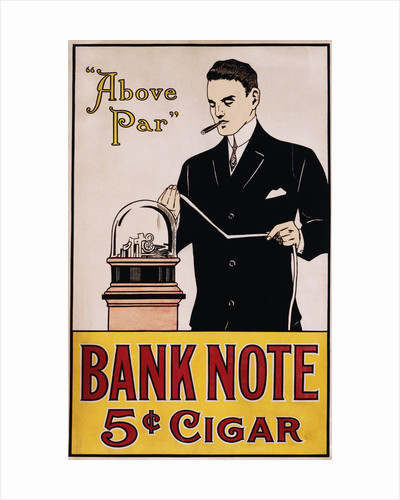 Bank Note 5 Cent Cigar Poster by Corbis
