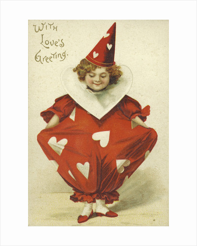 With's Love's Greeting Valentine Postcard by Corbis