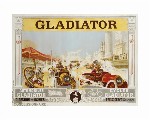 Gladiator Poster by Henri Gray