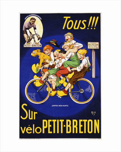 Tous!!! Poster by Michel Liebeaux