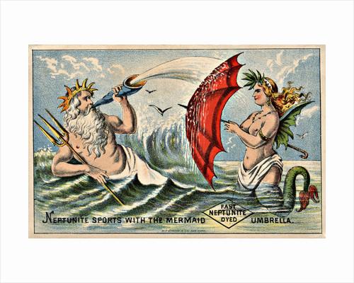 Neptunite Dye Victorian Trading Card by Corbis
