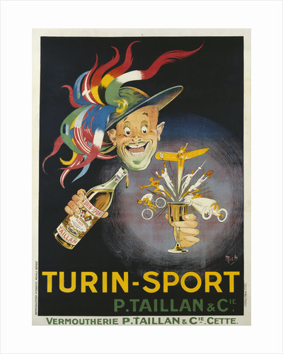 Turin-Sport Alcoholic Beverage Poster by Mich