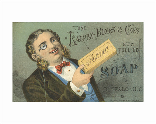 Acme Soap Advertisement by Corbis