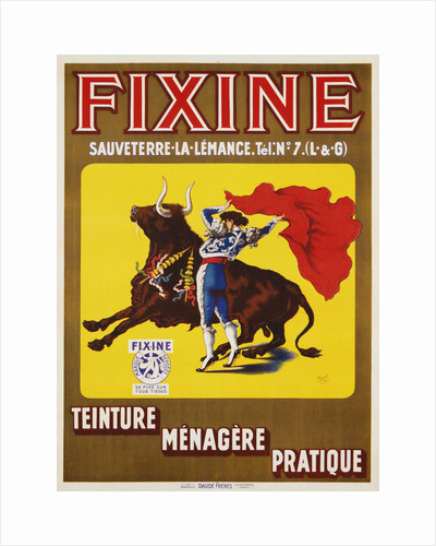 Fixine Poster by Charlet