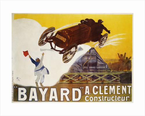 Bayard Poster by Weiluc