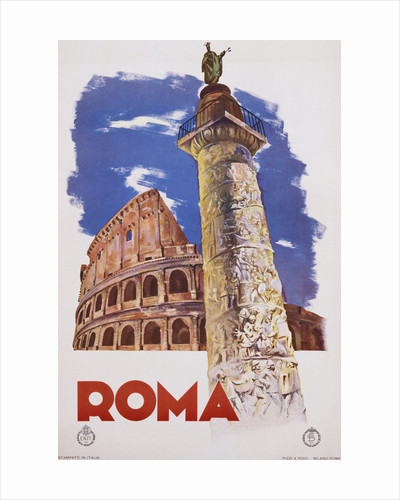 Roma Travel Poster by Corbis