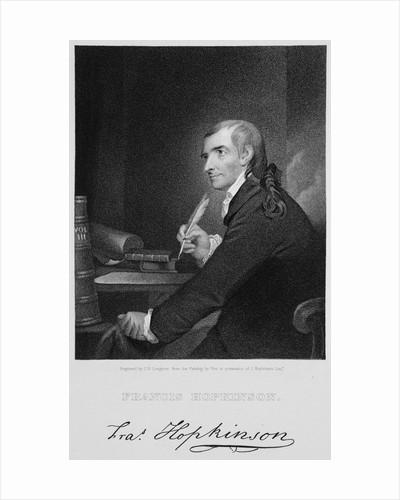 Francis Hopkinson by John Francis Eugene Prud'homme