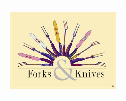 Forks & Knives by Steve Collier