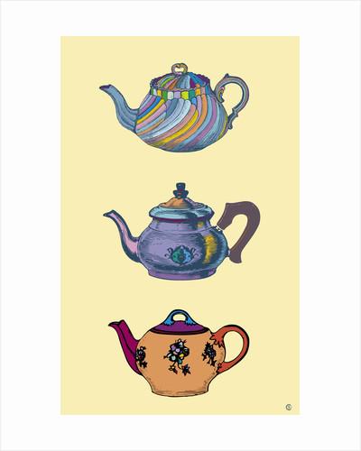 Teapots by Steve Collier