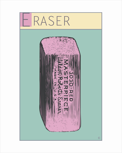 Eraser by Steve Collier Studio