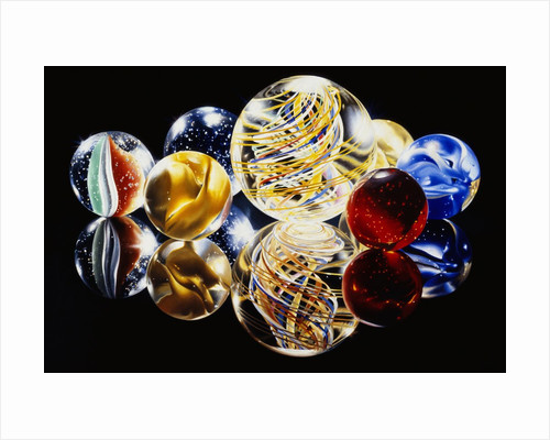 Marbles XII by Charles Bell