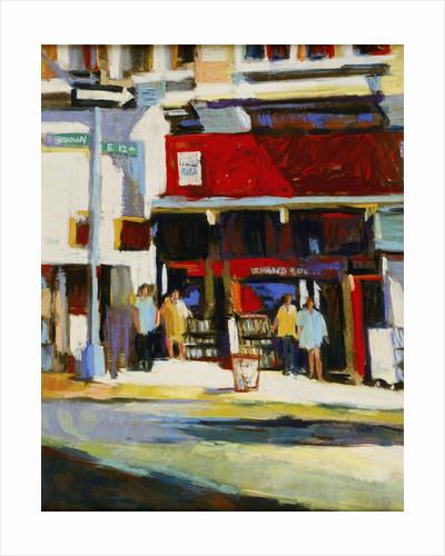 Union Square Bookstore by Patti Mollica