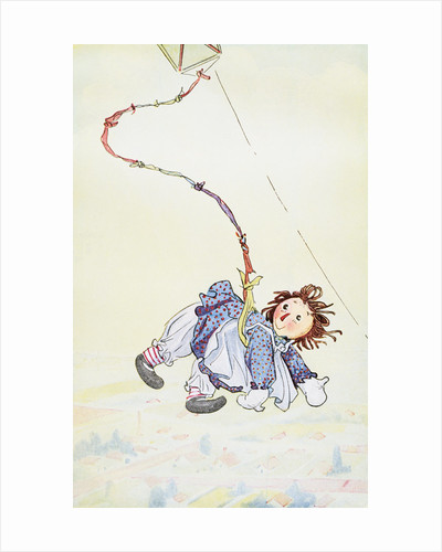 Raggedy Ann Stories: Raggedy Ann Flying by Johnny Gruelle