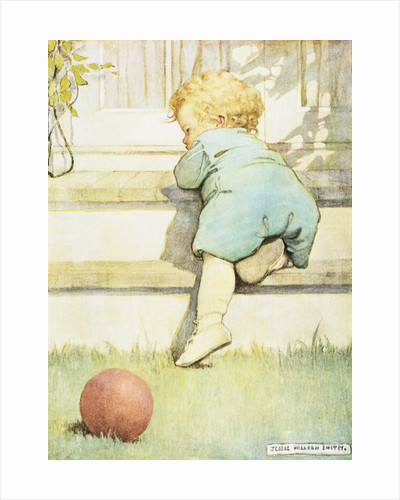 The Toddling Baby Boy by Jessie Willcox Smith