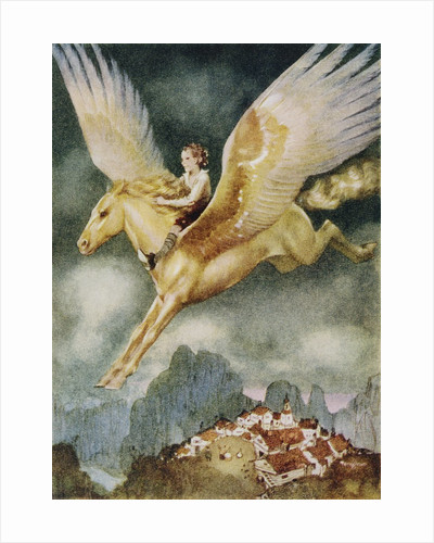 Little Rider from the Way-Away Land by Gustaf Tenggren