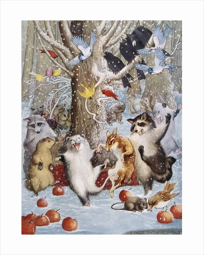 Christmas in the Woods by Philip Vinton Hopkins