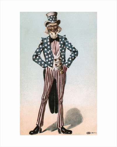Postcard of Uncle Sam by Corbis