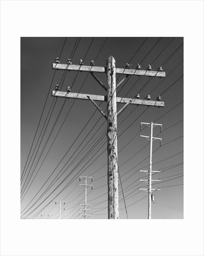 Poles and Wires by Gordon Osmundson