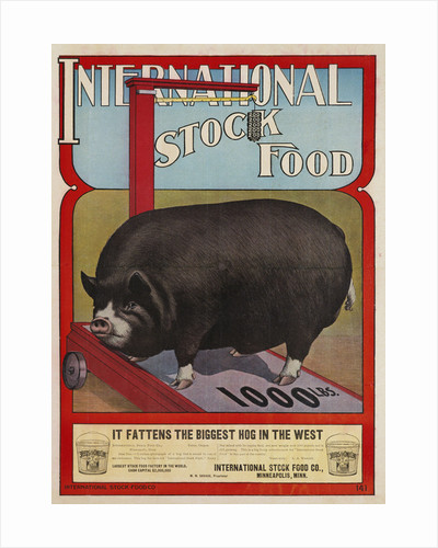 International Stock Food Advertising Poster by Corbis