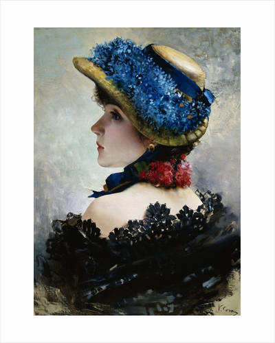 Pretty as a Picture by Vittorio Matteo Corcos