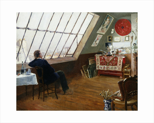 An Artist in His Studio by Pascal Adolph Jean Dagnan-Bouveret