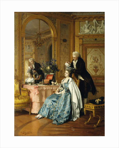 The Wig Maker by Emile-Pierre Metzmacher