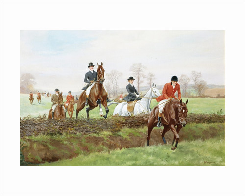 The Hunt by George Derville Rowlandson