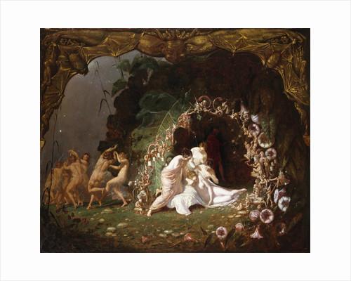Tatiana Sleeping by Richard Dadd