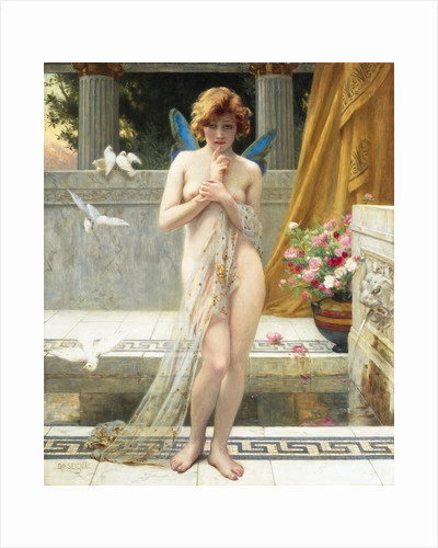 Hesitation of Psyche by Guillaume Seignac