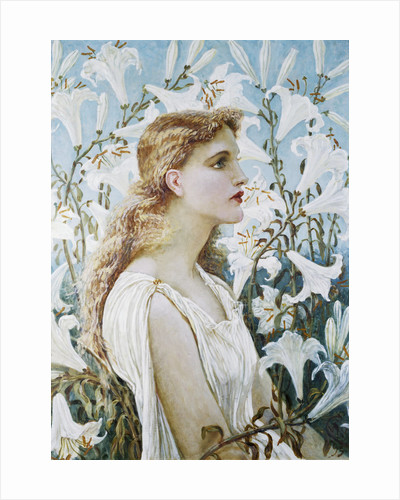 Lilies by Walter Crane