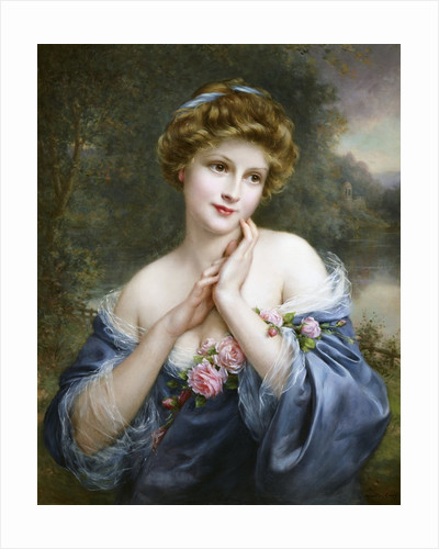 A Summer Rose by Francois Martin-Kavel