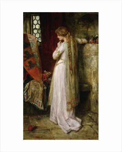A Pensive Moment by F. Sydney Muschamp